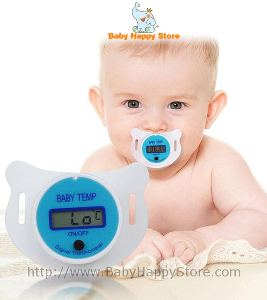 01 - Digital Pacifier Thermometer - Promo 01