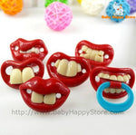 Funny Smile Baby Pacifier