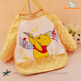 01 - Long Sleeve Waterproof Baby Bibs 0-2 Years - Promo 01