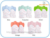 02 - Chewable Teether Gloves - BPA Free - Promo