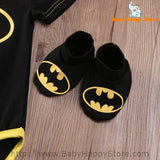 04 - Batman Baby Outfit - Short Sleeves