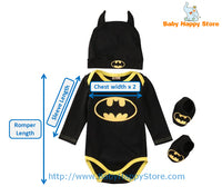 09 - Batman Baby Outfit - Size