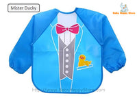 22 - Long Sleeve Waterproof Baby Bibs 0-2 Years - Mister Ducky