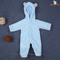 30 - Newborn Baby Bear Rompe - Blue 01