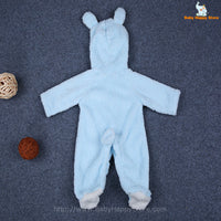 31 - Newborn Baby Bear Rompe - Blue 02