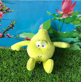 19 - Fruit & Vegetable Plush Dolls - Pear 02