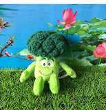 11 - Fruit & Vegetable Plush Dolls - Brocolli 02