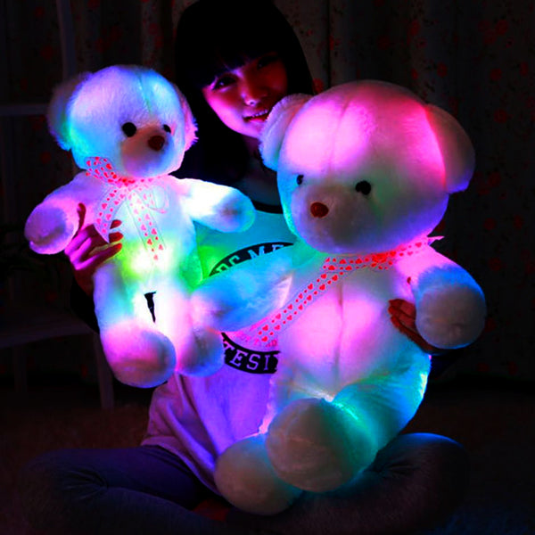 01 - Glowing LED Teddy Bear Plush - Promo
