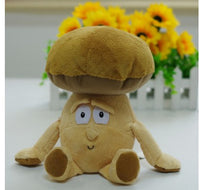 12 - Fruit & Vegetable Plush Dolls - Mushroom