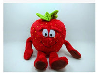 07 - Fruit & Vegetable Plush Dolls - Strawberry