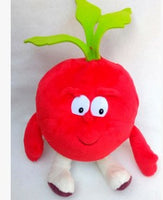 20 - Fruit & Vegetable Plush Dolls - Raddish