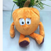 26 - Fruit & Vegetable Plush Dolls - Pumpkin