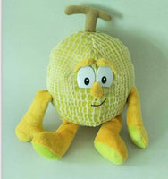 14 - Fruit & Vegetable Plush Dolls - Hami Melon