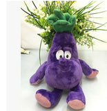 24 - Fruit & Vegetable Plush Dolls - Eggplant 01