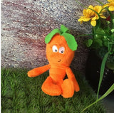 40 - Fruit & Vegetable Plush Dolls - Mini Carrot