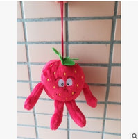 41 - Fruit & Vegetable Plush Dolls - Mini Starwberry