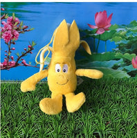 39 - Fruit & Vegetable Plush Dolls - Mini Banana