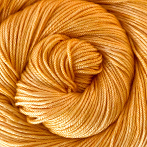 Silky Sheep Yarn - Apricot Semi Solid