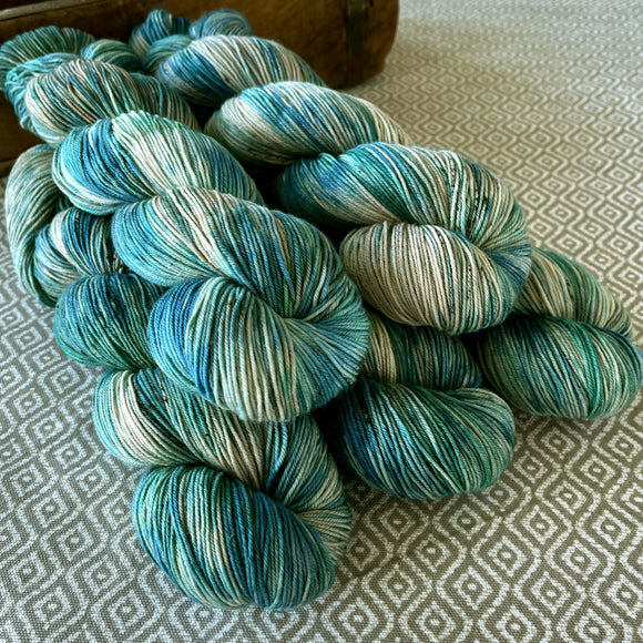 Simply Sock Yarn - Aquamarine Variegated