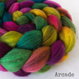 Heathered BFL Roving - Arcade