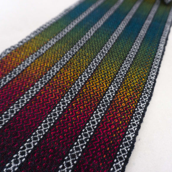 Woven Gradient Scarf Kit - Arcade