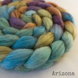 Merino Yak Silk Roving - Arizona