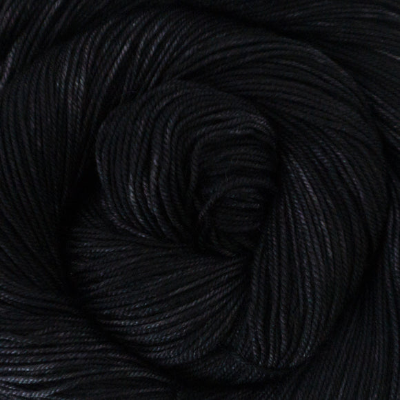 Yakity Yak Fingering Weight Yarn - Black Tonal