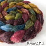 Glitter Roving - Bountiful - Gold