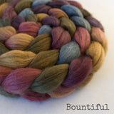 Merino Yak Silk Roving - Bountiful