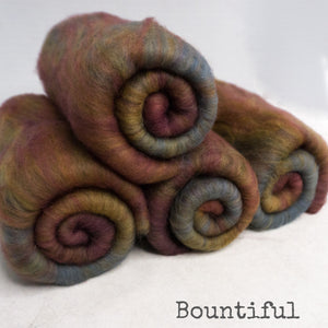 BFL Batts 4 ounces - Bountiful