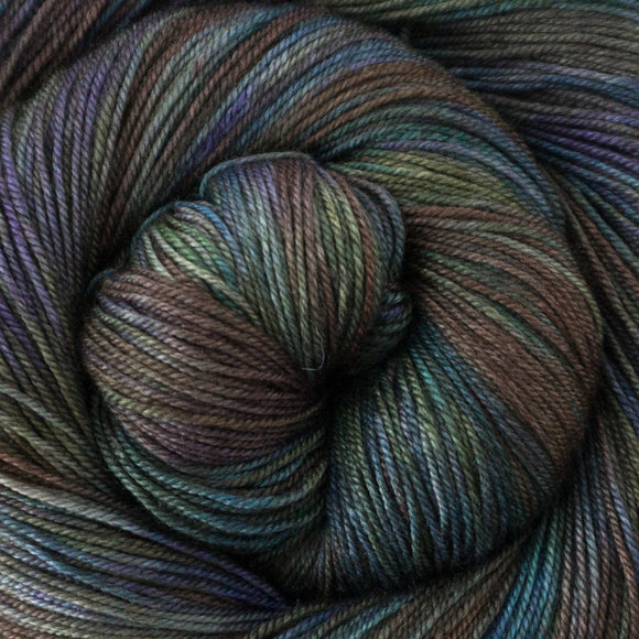 Yakity Yak Fingering Weight Yarn - Calypso
