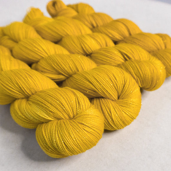 Gold Dust Yarn - Canary Semi Solid