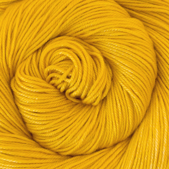 Silky Sheep Yarn - Canary Semi Solid