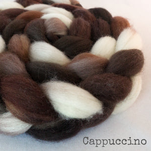 Sock Roving - Cappuccino