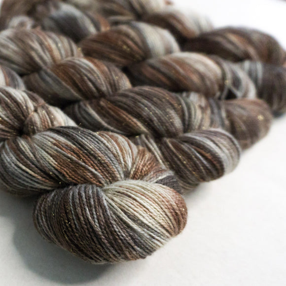 Gold Dust Yarn - Cappuccino Variegated