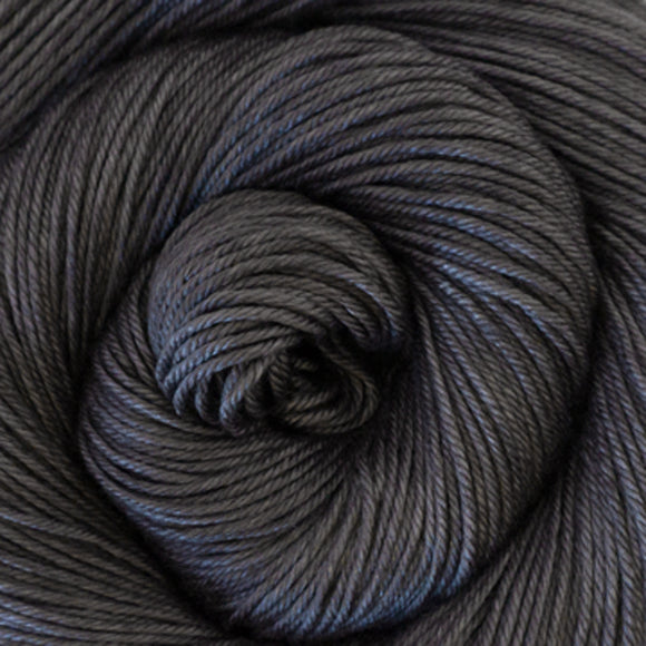 Silky Sheep Yarn - Charcoal Semi Solid