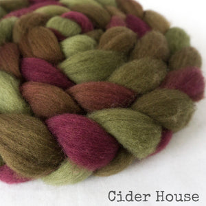 BFL Wool Roving - Cider House