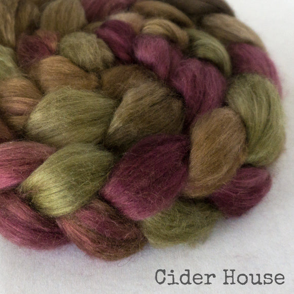 Camel Silk Roving - Cider House