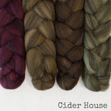 Heathered BFL Roving - Cider House - Bundle