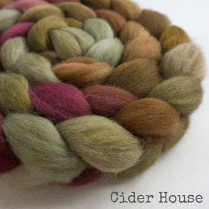 Falkland Wool Roving - Cider House