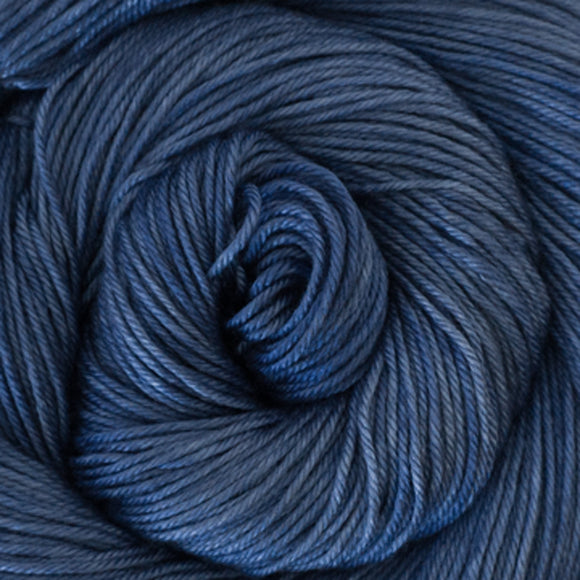 Silky Sheep Yarn - Cobalt Semi Solid