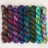 Simply Sock 8-Pack Mini Skeins in Colorways - OOAK