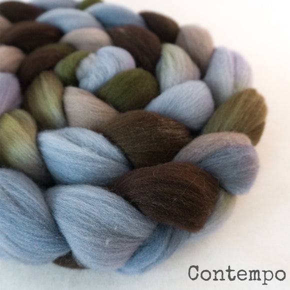Targhee Wool Roving - Contempo