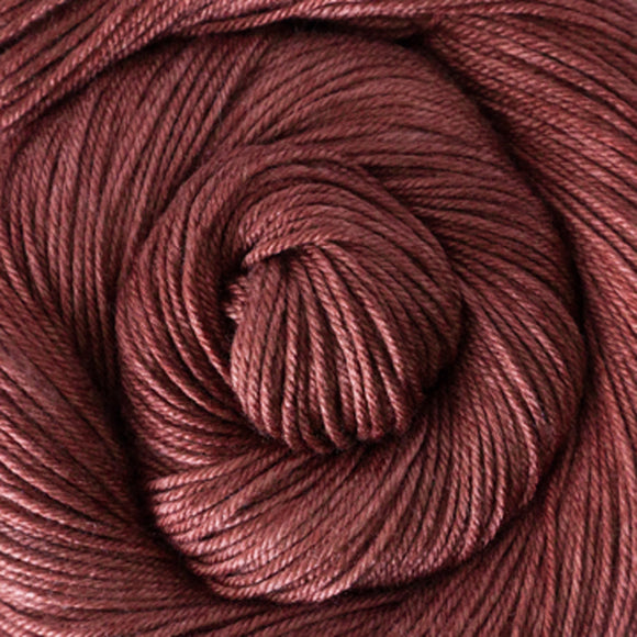 Silky Sheep Yarn - Currant Semi Solid