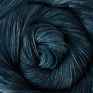 Yakity Yak Fingering Weight Yarn - Denim Tonal