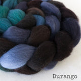 Polwarth Wool Roving - Durango