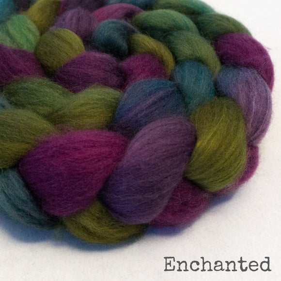 Sock Roving - Enchanted