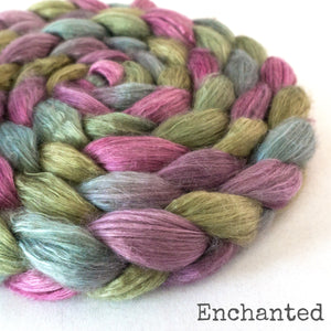 Camel Silk Roving - Enchanted