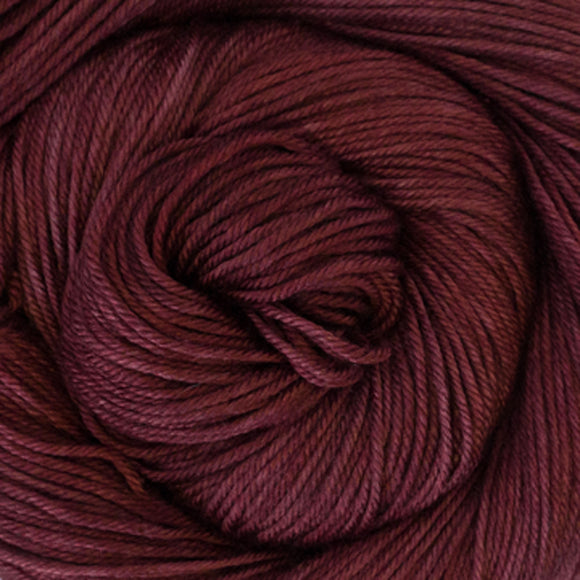 Silky Sheep Yarn - Garnet Semi Solid