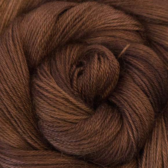 Cashmere Delight Yarn - Gingersnap Semi Solid